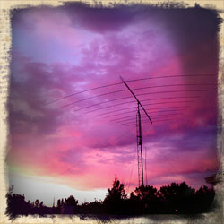 sunset-radio-tower
