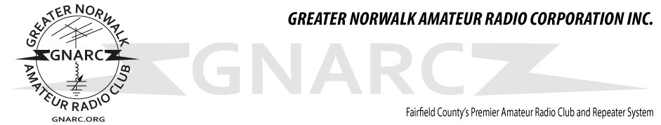 Greater Norwalk Amateur Radio Club, Inc.